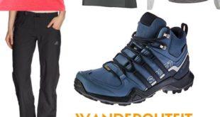 Wanderoutfit Adidas Terrex Damen
