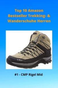 Top 10 Amazon 1 Bestseller Trekking- & Wanderschuhe Herren - 1 CMP Rigel Mid