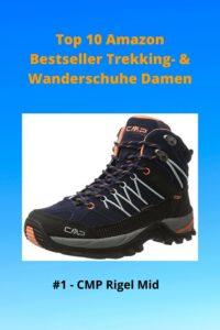 Top 10 Amazon - 1 Damen CMP Rigel Mid - Wanderschuhe, Trekkingschuhe, Wanderstiefel