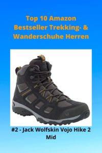 Top 10 Amazon 2 Bestseller Trekking- & Wanderschuhe Herren - 2 JW Vojo Hike 2 Herren