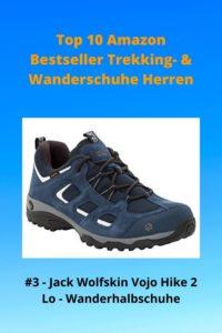 Top 10 Amazon 3 Bestseller Trekking- & Wanderschuhe Herren - 3 Jack Wolfskin Vojo Hike 2 LO