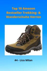 Top 10 AMZ 4 Bestseller Trekking- & Wanderschuhe Herren - 4 Lico Milan