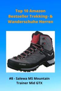 Top 10 Amazon 8 Bestseller Trekking- & Wanderschuhe Herren - 8 Salewa MS Mountain Trainer Mid GTX