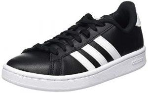 adidas Herren Sneaker Grand Court_schwarz-weiß
